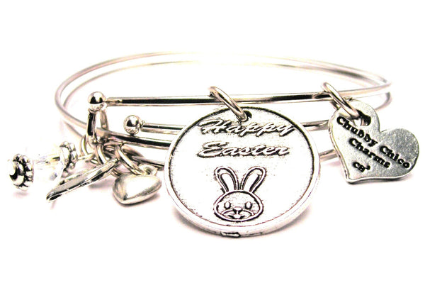 Easter bracelet, Easter jewelry, bunny bracelet, rabbit jewelry, holiday jewelry, holiday bracelet
