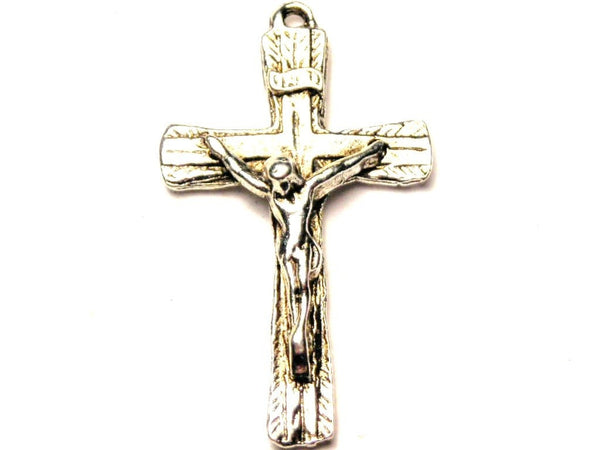 Crucifix Genuine American Pewter Charm