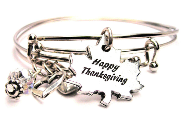 thanksgiving bracelet, thanksgiving jewelry, holiday jewelry, holiday bracelet