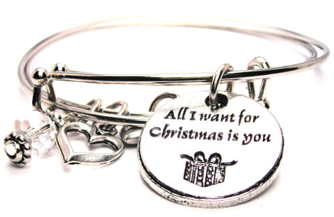 Christmas bracelet, Christmas bangles, Christmas jewelry, holiday bracelet, holiday jewelry