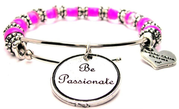 be passionate bracelet, passion jewelry, passion bracelet, statement jewelry, inspirational jewelry