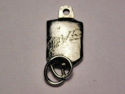 Give Blood Genuine American Pewter Charm