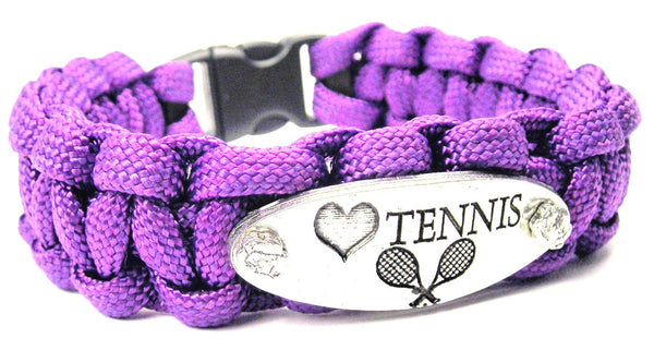 Love Tennis 550 Military Spec Paracord Bracelet