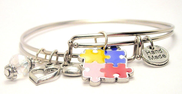 autism awareness bracelet, autism awareness jewelry, autism jewelry, autism mom bracelet