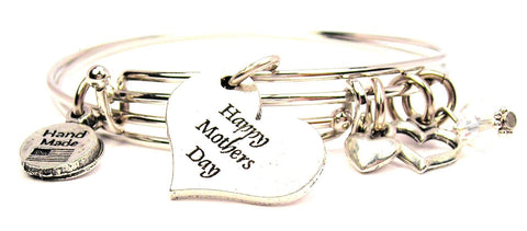 mothers day bracelet, mothers day bangles, mothers day jewelry, happy mothers day bracelet