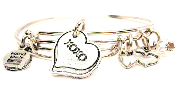 love bracelet, love bangles, love jewelry, I love you bracelet, xoxo bracelet, hugs and kisses bracelet