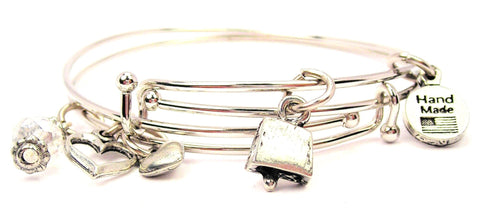 cow bell bracelet, cow bell bangles, cow bell jewelry, music bracelet