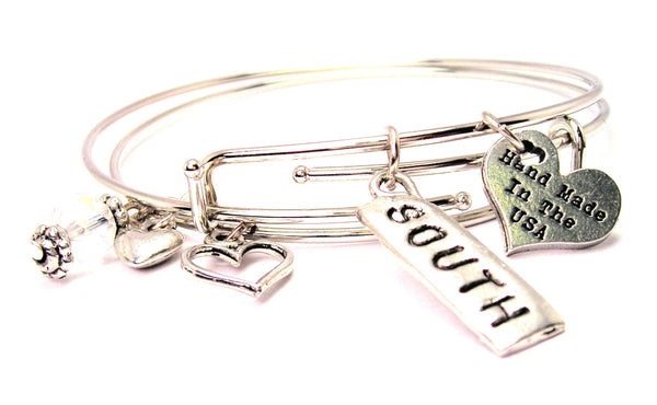 South Expandable Bangle Bracelet Set
