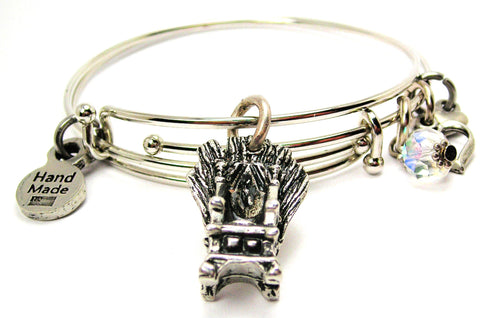 Throne Of Swords Expandable Bangle Bracelet Set