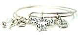 Werewolf Girl Expandable Bangle Bracelet Set