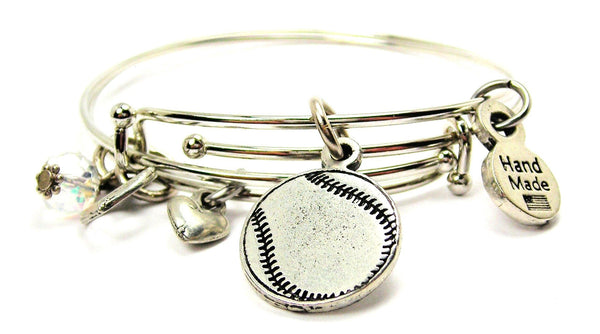 baseball bracelet, softball bracelet, sports bracelet, sports jewelry, baseball jewelry, softball jewelry