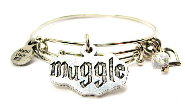 Muggle Expandable Bangle Bracelet Set