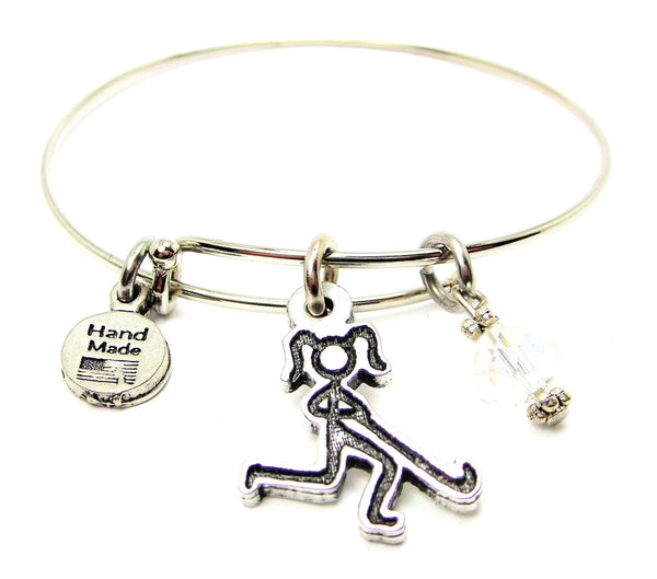 Field Hockey,  Field Hockey Charm,  Field Hockey Bracelet,  Field Hockey Jewelry,  Bangle Bracelet