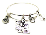 Love - Vault Floor Uneven Beam Bangle Bracelet