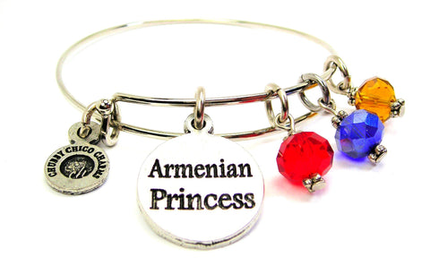 Armenian Princess Expandable Bangle Bracelet