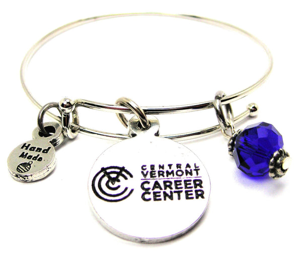 Central Vermont Career Center Bangle Bracelet, FR00847