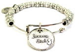 Jersey Girl Metal Beaded Bracelet