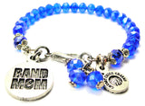Band Mom Splash Of Color Crystal Bracelet