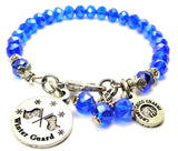 Winter Guard Splash Of Color Crystal Bracelet