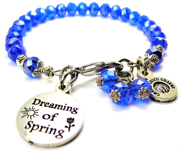 Dreaming Of Spring Splash Of Color Crystal Bracelet