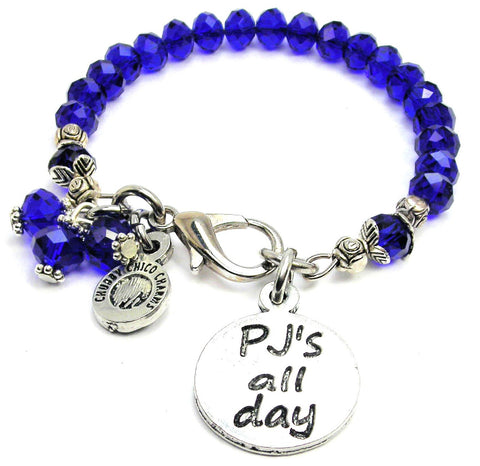 PJ'S All Day Splash Of Color Crystal Bracelet