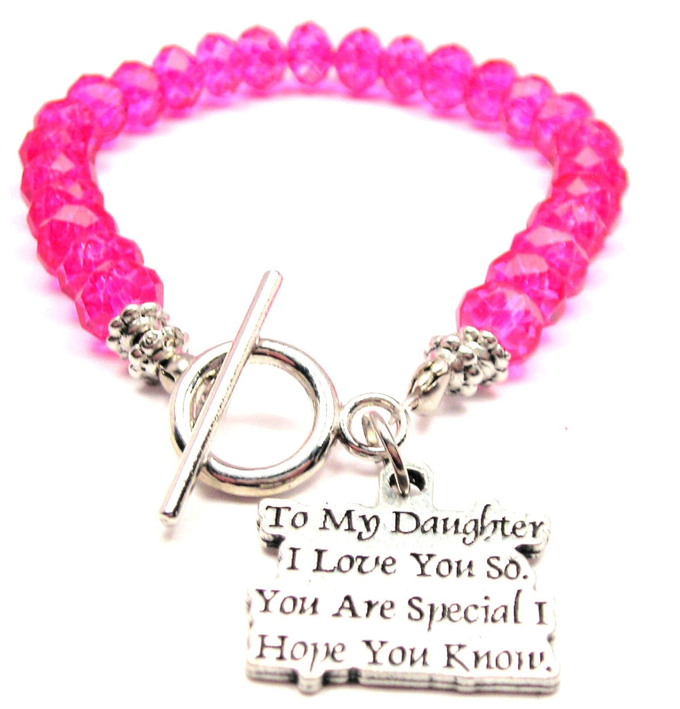 f99eca656e9 To My Daughter I Love You So You Are Special I Hope You Know Crystal ...