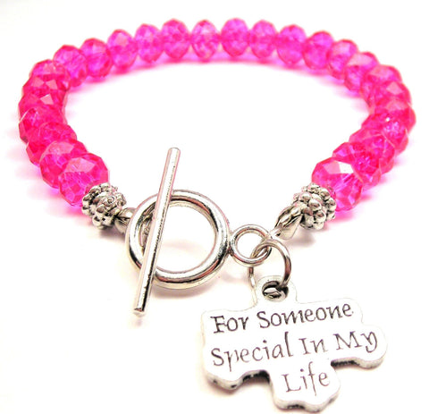 For Someone Special In My Life,  Expression Bracelets,  Expression Jewelry,  Love Jewelry,  Love Bracelets,  Special Jewelry,  Special Bracelets