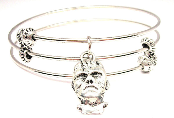 Frankenstein Triple Style Expandable Bangle Bracelet