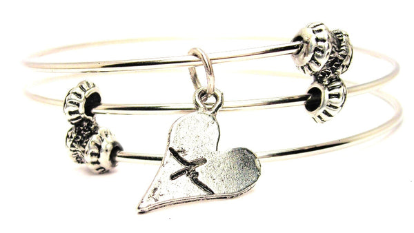 heart jewelry, heart bangles, heart bracelet, Style_Love bracelet, Style_Love jewelry, Style_Love expression jewelry