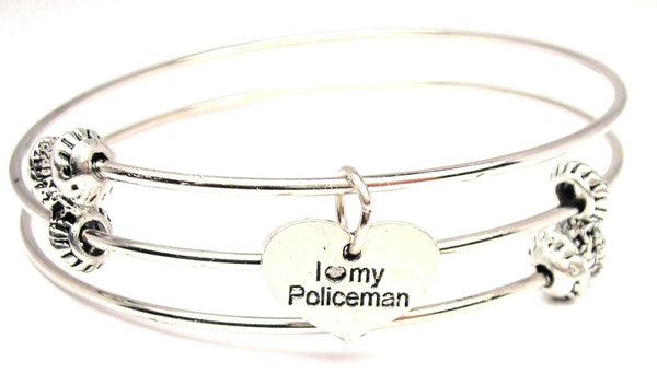 police officers wife bracelet, police bracelet, law enforcement jewelry, wife jewelry, wife bracelet
