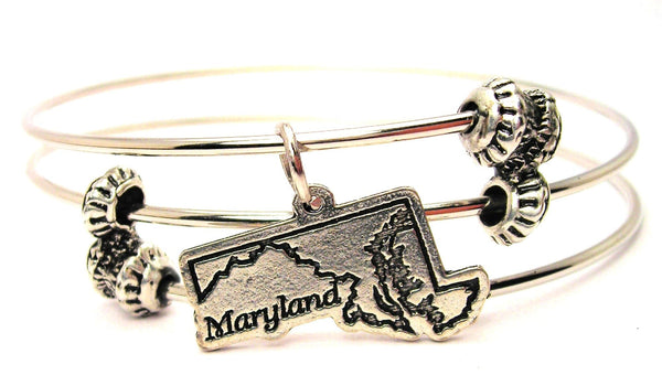state bangle, state bracelet, state jewelry, hometown bangle, hometown bracelet, hometown jewelry, travel bangle, travel bracelet, travel jewelry