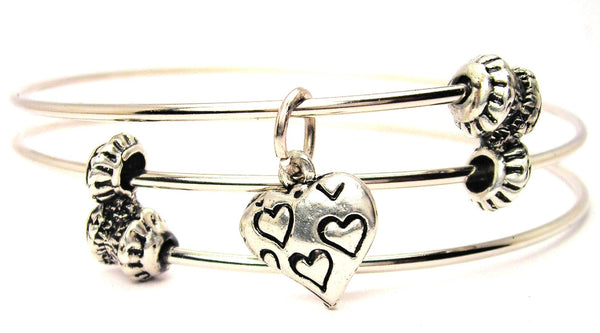 love bracelet, love jewelry, heart bracelet, heart jewelry, love expression jewelry
