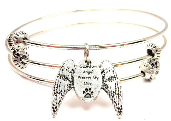 Angel bangle, angel bracelet, angel jewelry, religious bangle, religious bracelet, religious jewelry