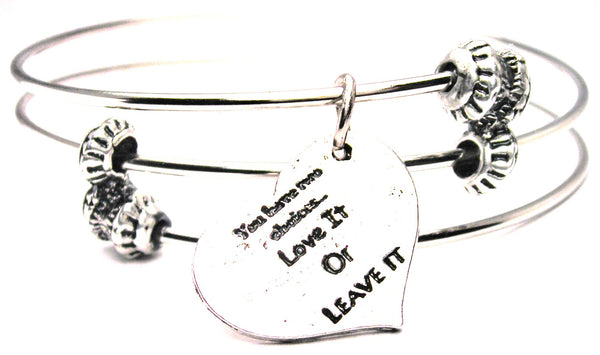 expression jewelry, expression statement jewelry, expression bracelet, love expression jewelry