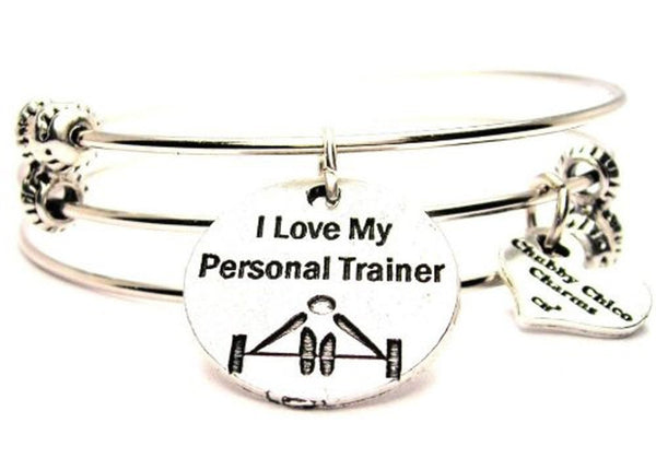 personal trainer bracelet, personal trainer jewelry, career bracelet, wife bracelet, wife jewelry