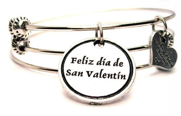 Style_Spanish language bracelet, Style_Spanish language jewelry, valentine bracelet, valentines day jewelry, holiday jewelry