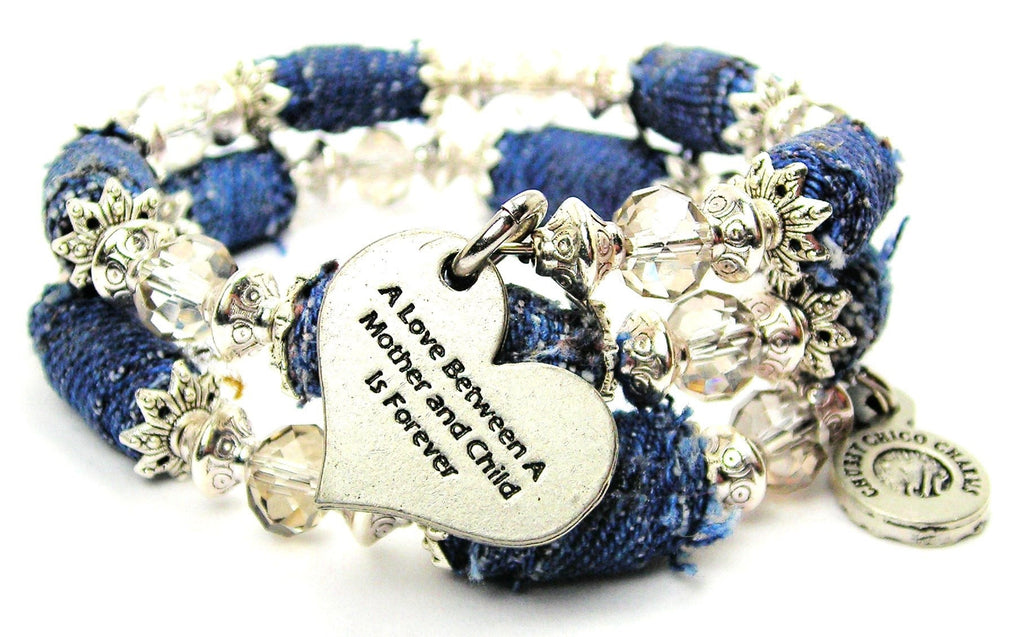 d66e2b0b1 A Love Between A Mother And Child Is Forever Blue Jean Distressed ...