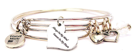 love bracelet, love bangles, love jewelry, always and forever bracelet, always and forever bangles