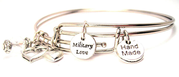 military bracelet, military jewelry, patriotic jewelry, patriotic bracelet, military wife jewelry