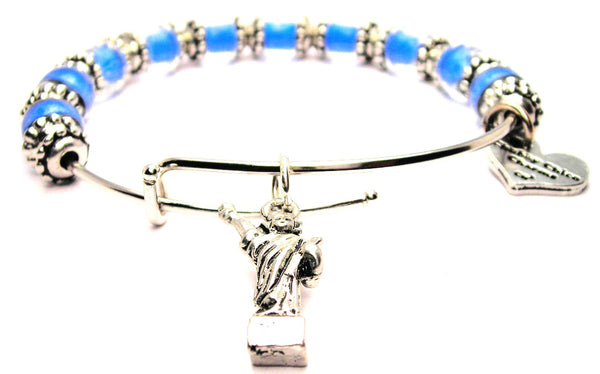 statue of liberty bracelet, statue of liberty jewelry, new york jewelry, new york bracelet