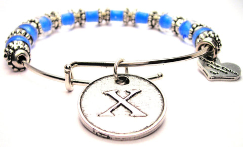 letter x bracelet, letter x bangles, initial bracelet, initial bangles, initial jewelry, letter initial jewelry