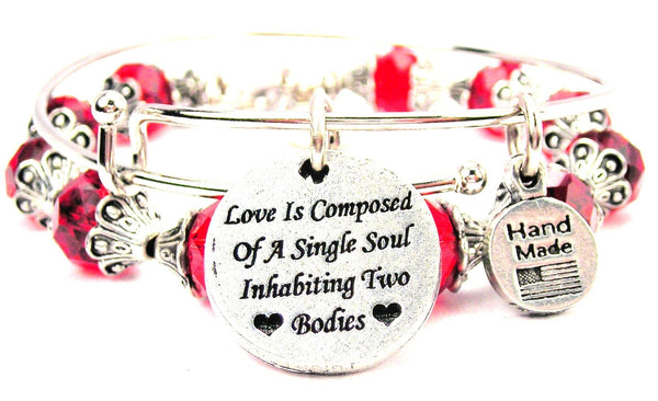 Love Is Composed Of A Single Soul Inhabiting Two Bodies 2 Piece Collection