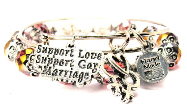Support Love Support Gay Marriage 2 Piece Collection