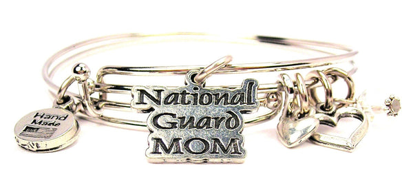 national guard bracelet, national guard mom bracelet, military mom bracelet, military bracelet