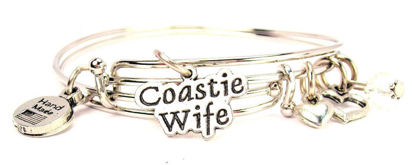 coast guard wife bracelet, coast guard jewelry, military wife jewelry, military jewelry, wife jewelry