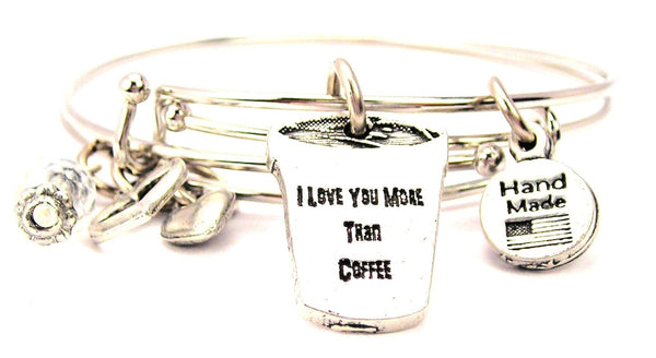 coffee bracelet, coffee lover bracelet, I love coffee bracelet, coffee lover jewelry, java bracelet