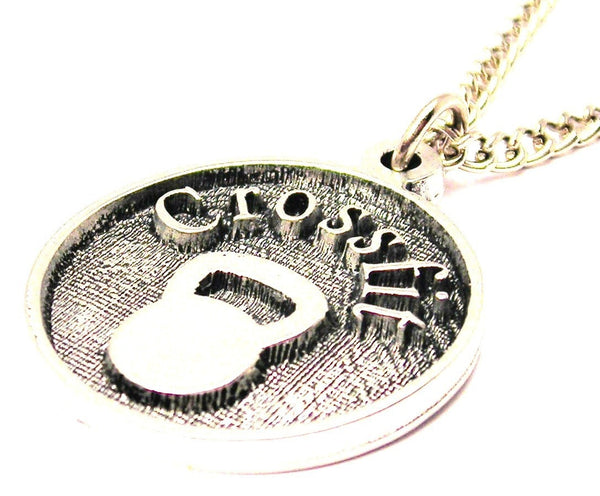 in loving memory of my mom,  in loving memory of my mom charm,  in loving memory of my mom necklace,  in loving memory of my mom jewelry,  stainless steel necklace