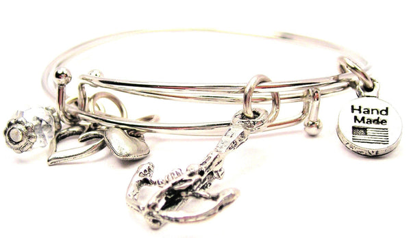cross bow bracelet, cross bow bangles, cross bow jewelry, archery bracelet