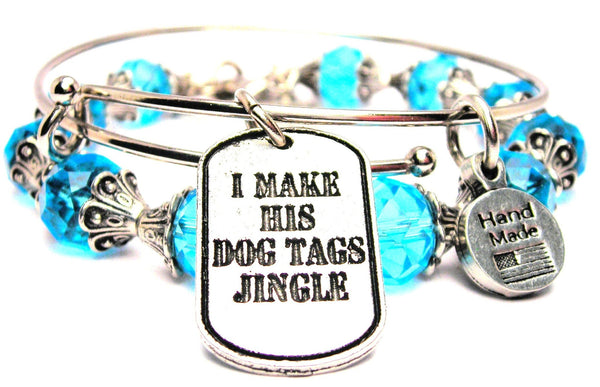 I Make His Dog Tags Jingle 2 Piece Collection