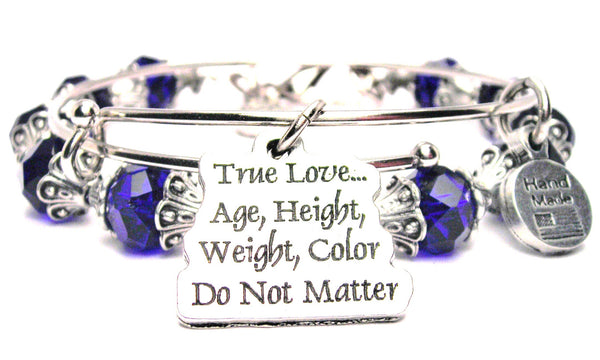 True Love Age Height Weight Color Do Not Matter 2 Piece Collection